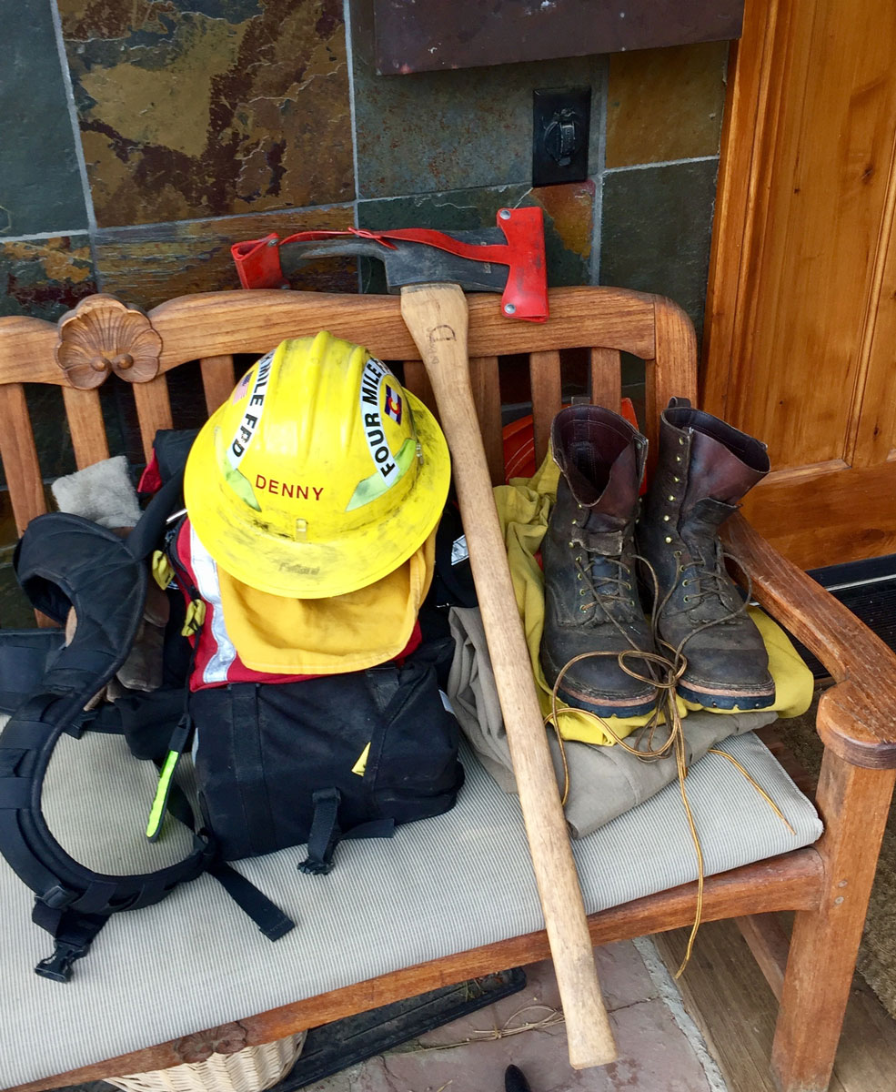 Firefighter tools - always ready